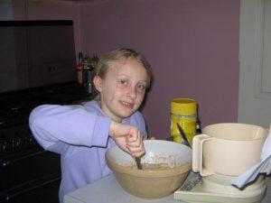 Kathryn baking