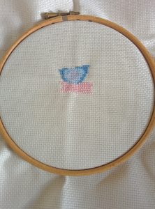 Day 2 of my stitching