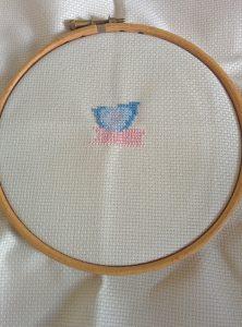 Day 2 of my stitching